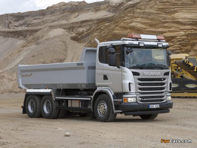 Scania G480 6x4 Tipper 2010–13 photos (640 x 480)