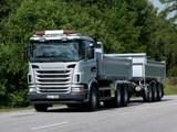Scania G480 6x4 Tipper 2010–13 photos