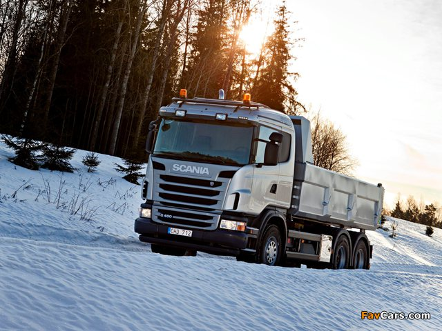 Scania G480 6x4 Tipper 2010–13 pictures (640 x 480)