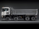 Scania G400 8x8 Tipper Off-Road Package 2011 wallpapers