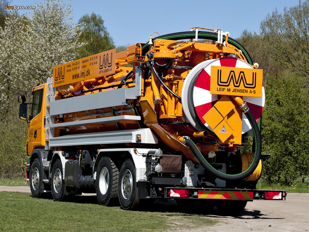 Scania G480 8x2 Sewer Cleaner 2012–13 pictures (1024 x 768)