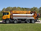 Scania G480 8x2 Sewer Cleaner 2012–13 wallpapers