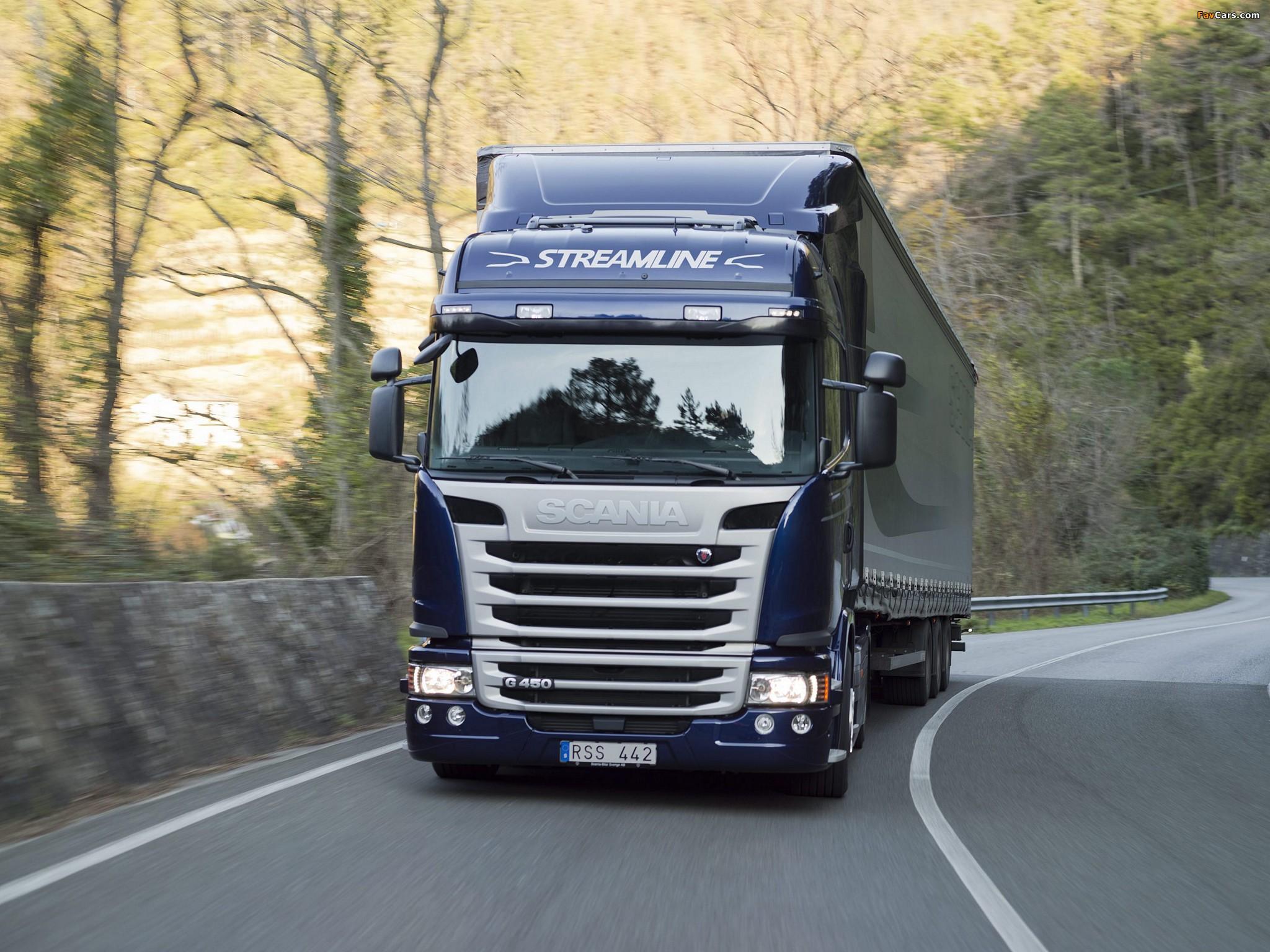 Scania G450 4x2 Streamline Highline Cab 2013 pictures (2048 x 1536)