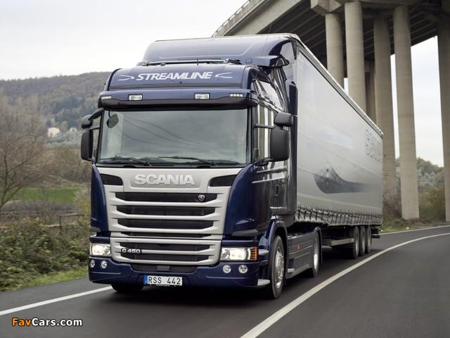 Scania G450 4x2 Streamline Highline Cab 2013 pictures (640 x 480)