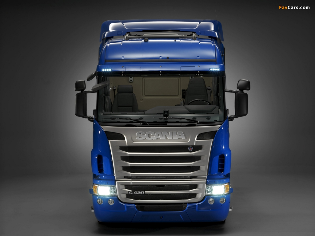 Scania G420 4x2 Highline 2010–13 wallpapers (1024 x 768)