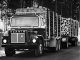 Scania LS140 6x2 Timber Truck 1976–81 images