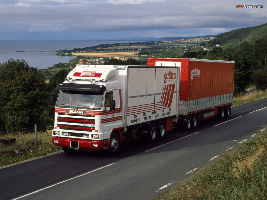 Photos of Scania R143M 6x2 1988–95 (1024 x 768)