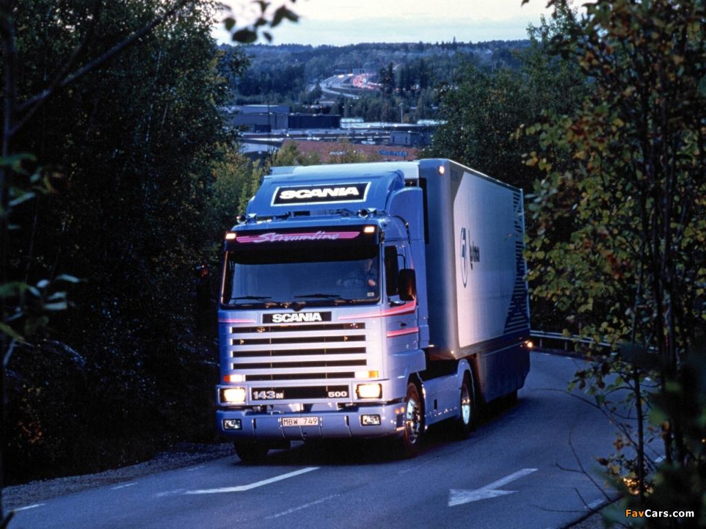 Photos of Scania R143MA 4x2 Streamline 1990–95 (1024 x 768)