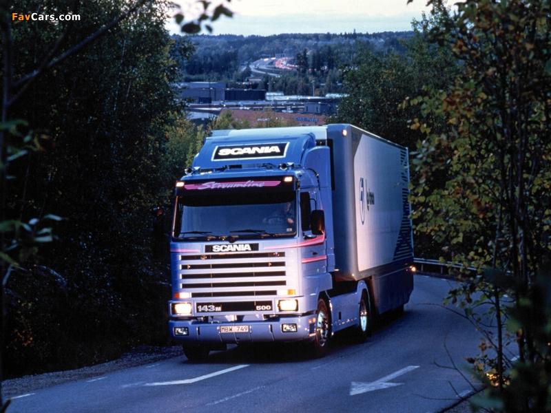 Photos of Scania R143MA 4x2 Streamline 1990–95 (800 x 600)