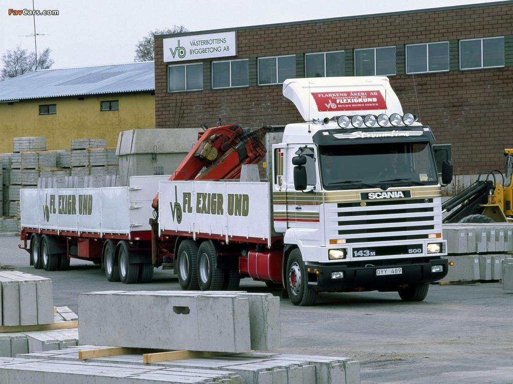 Scania R143M 6x2 1988–95 images (1024 x 768)