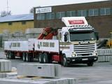 Scania R143M 6x2 1988–95 images