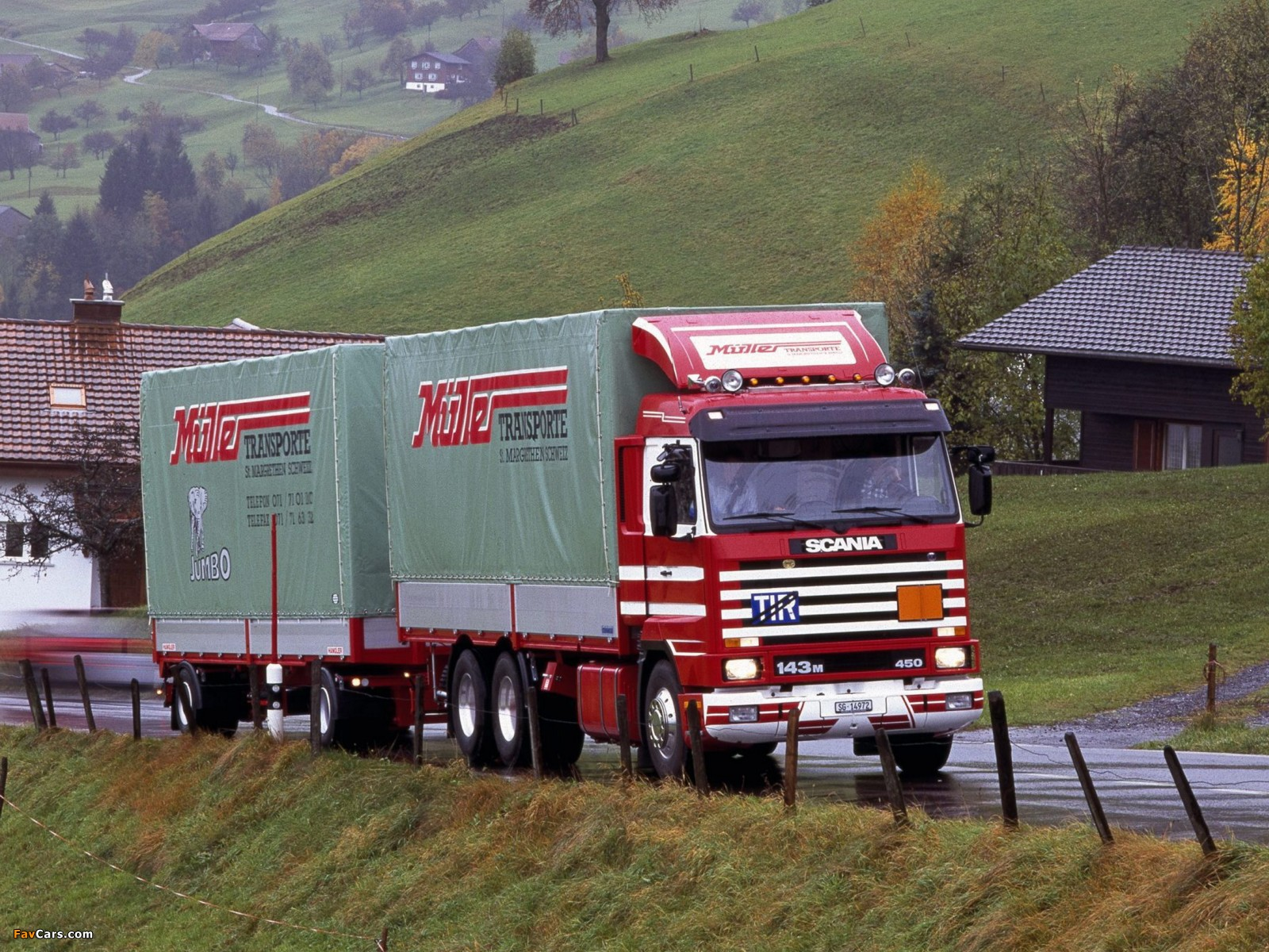 Scania R143M 6x2 1988–95 wallpapers (1600 x 1200)