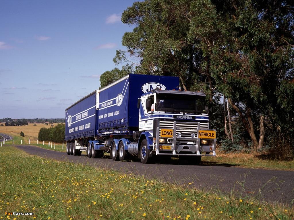 Scania 143HL 6x2 AU-spec 1988–95 photos (1024 x 768)