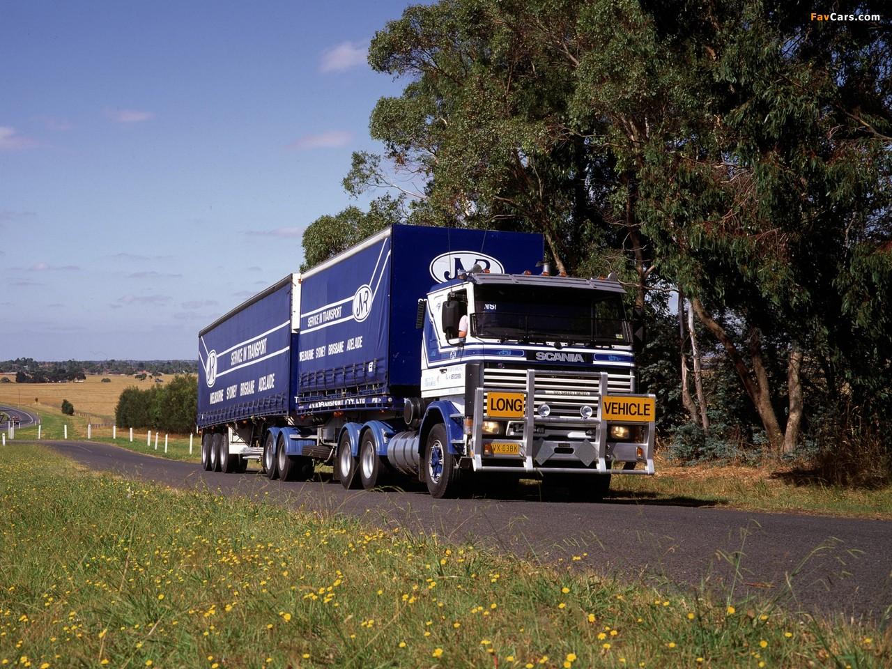 Scania 143HL 6x2 AU-spec 1988–95 photos (1280 x 960)