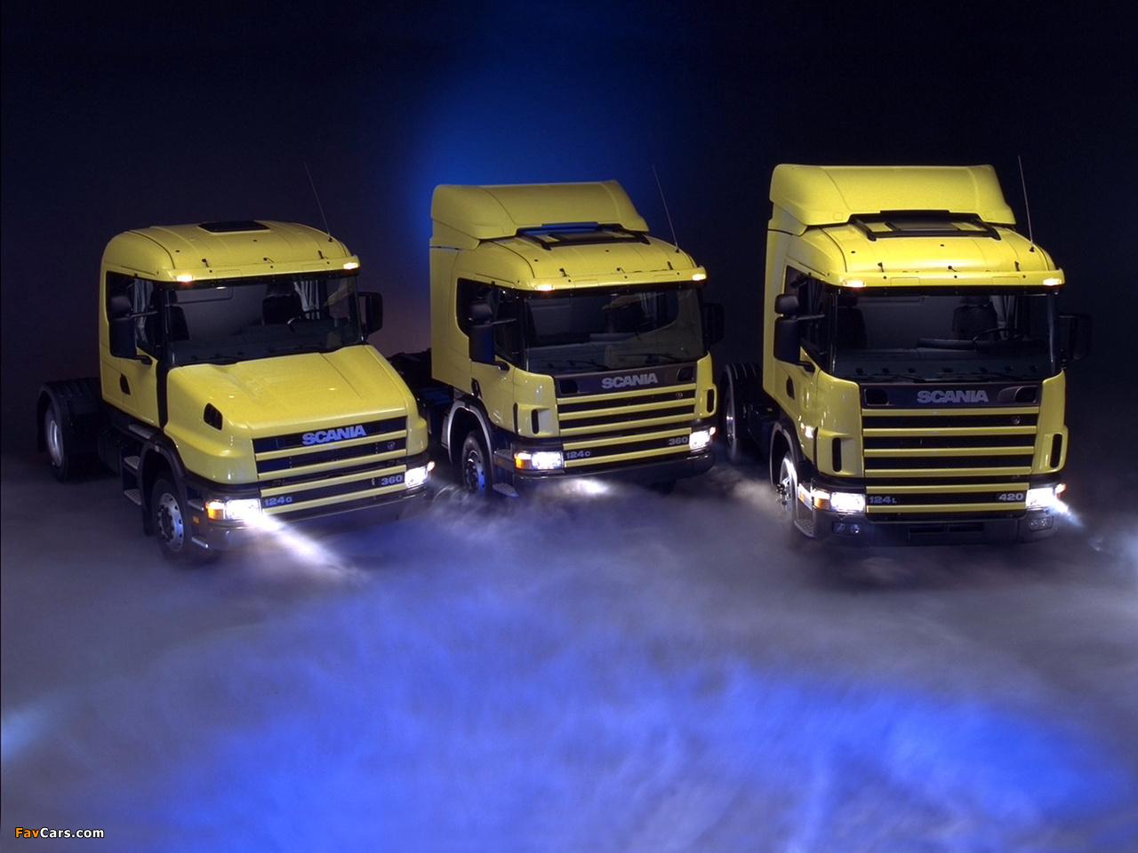 Photos of Scania IV Series 1995–2007 (1280 x 960)