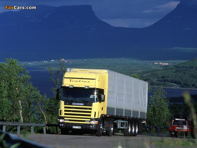 Photos of Scania R124L 400 4x2 1995–2004 (640 x 480)