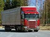 Photos of Scania R164L 580 4x2 1995–2004