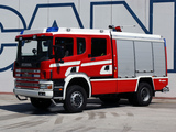 Photos of Scania 124C 420 4x4 Crew Cab Firetruck by Rosenbauer 2000–04