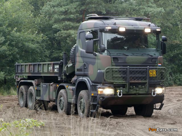 Photos of Scania 124CB 8x4 HZ 1995–2004 (640 x 480)