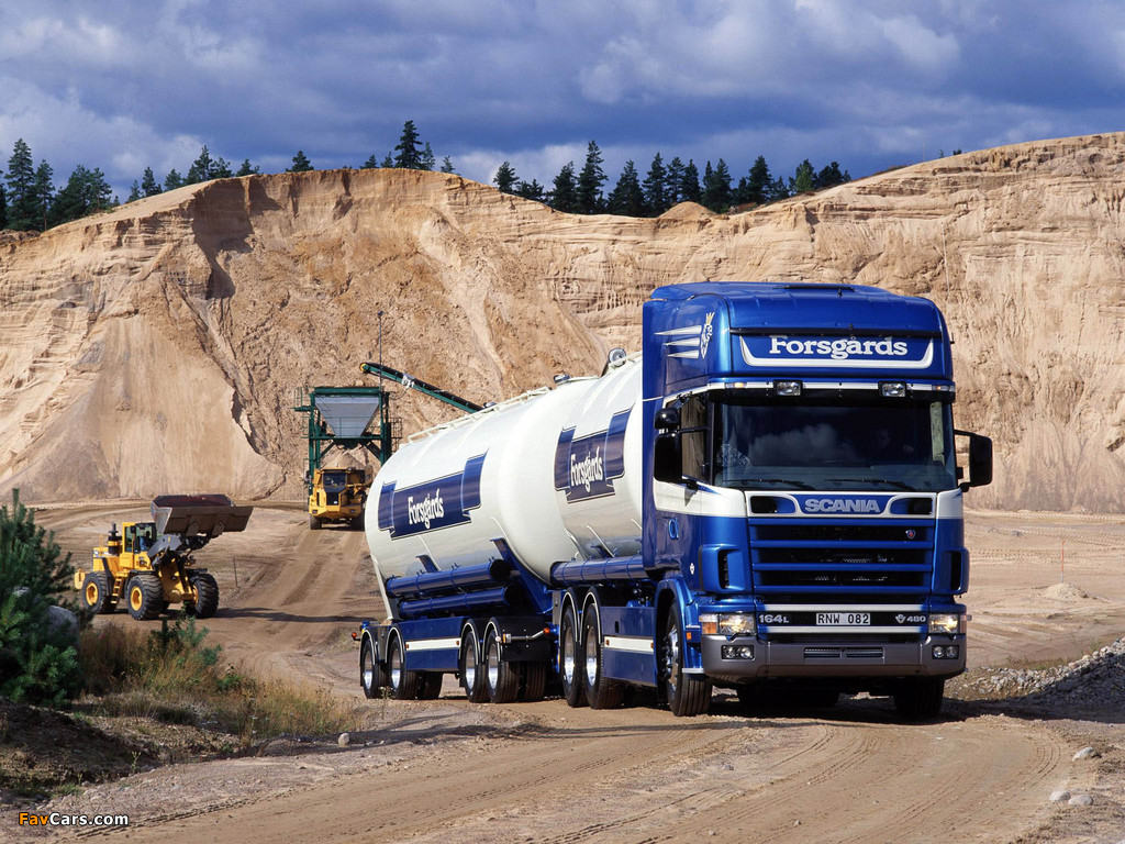 Pictures of Scania R164LB 480 6x2 Topline Tanker 1995–2004 (1024 x 768)