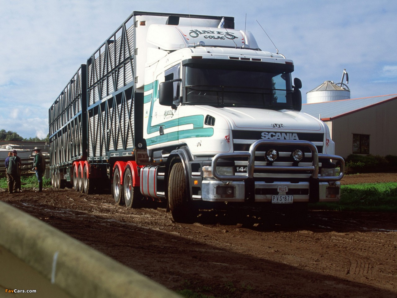 Pictures of Scania T144G 530 6x4 AU-spec 1995–2004 (1280 x 960)