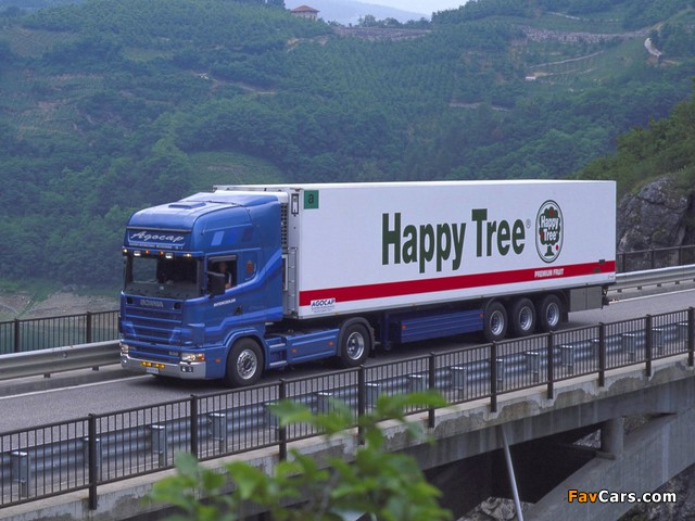 Pictures of Scania R144L 530 4x2 Topline 1995–2004 (640 x 480)