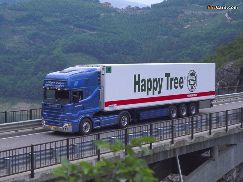 Pictures of Scania R144L 530 4x2 Topline 1995–2004 (800 x 600)
