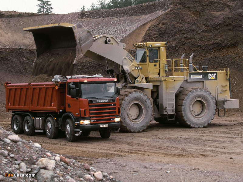 Pictures of Scania R124CB 470 8x4 Tipper 1995–2004 (800 x 600)