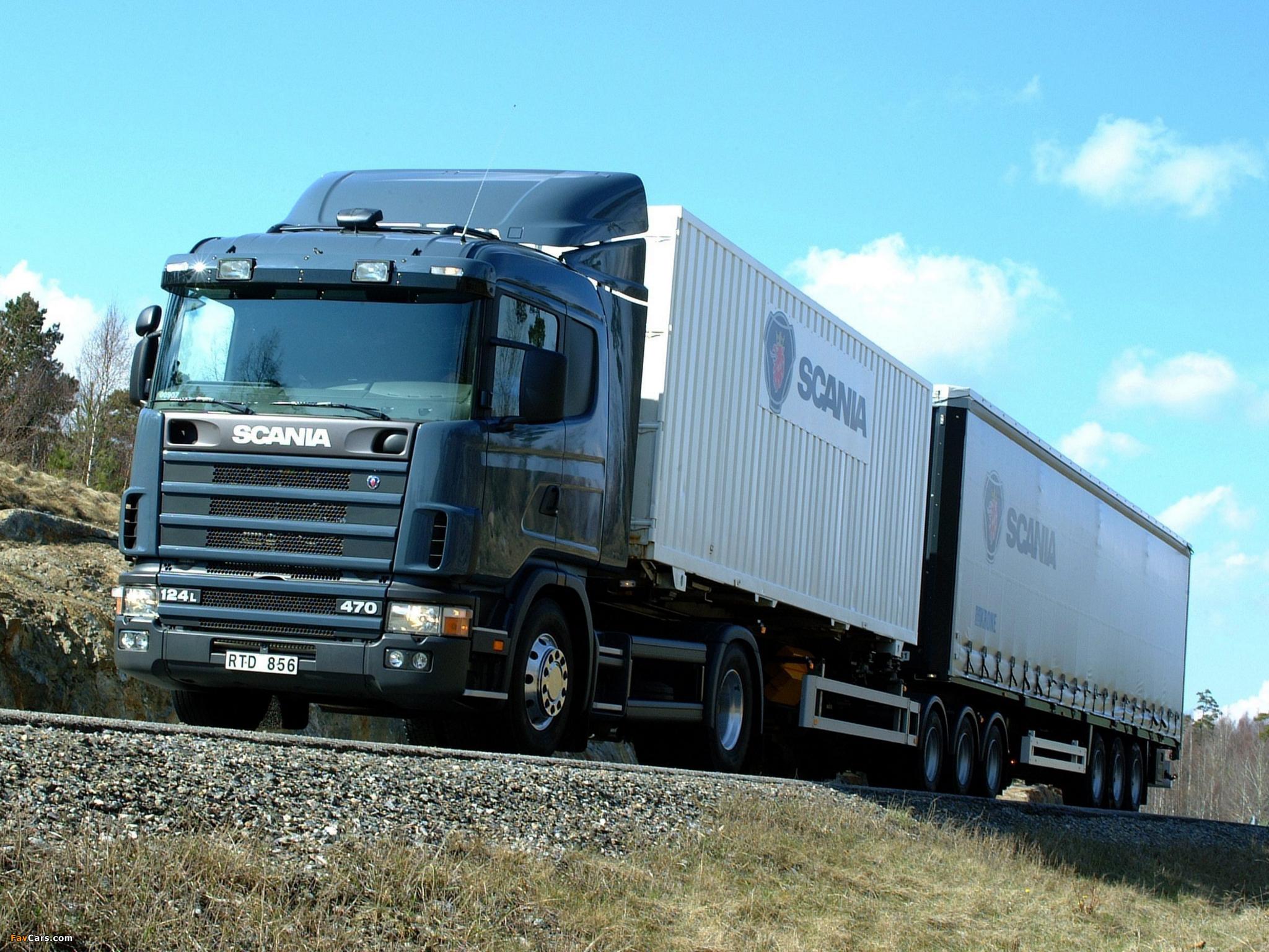 Scania R124L 470 4x2 1995–2004 images (2048 x 1536)