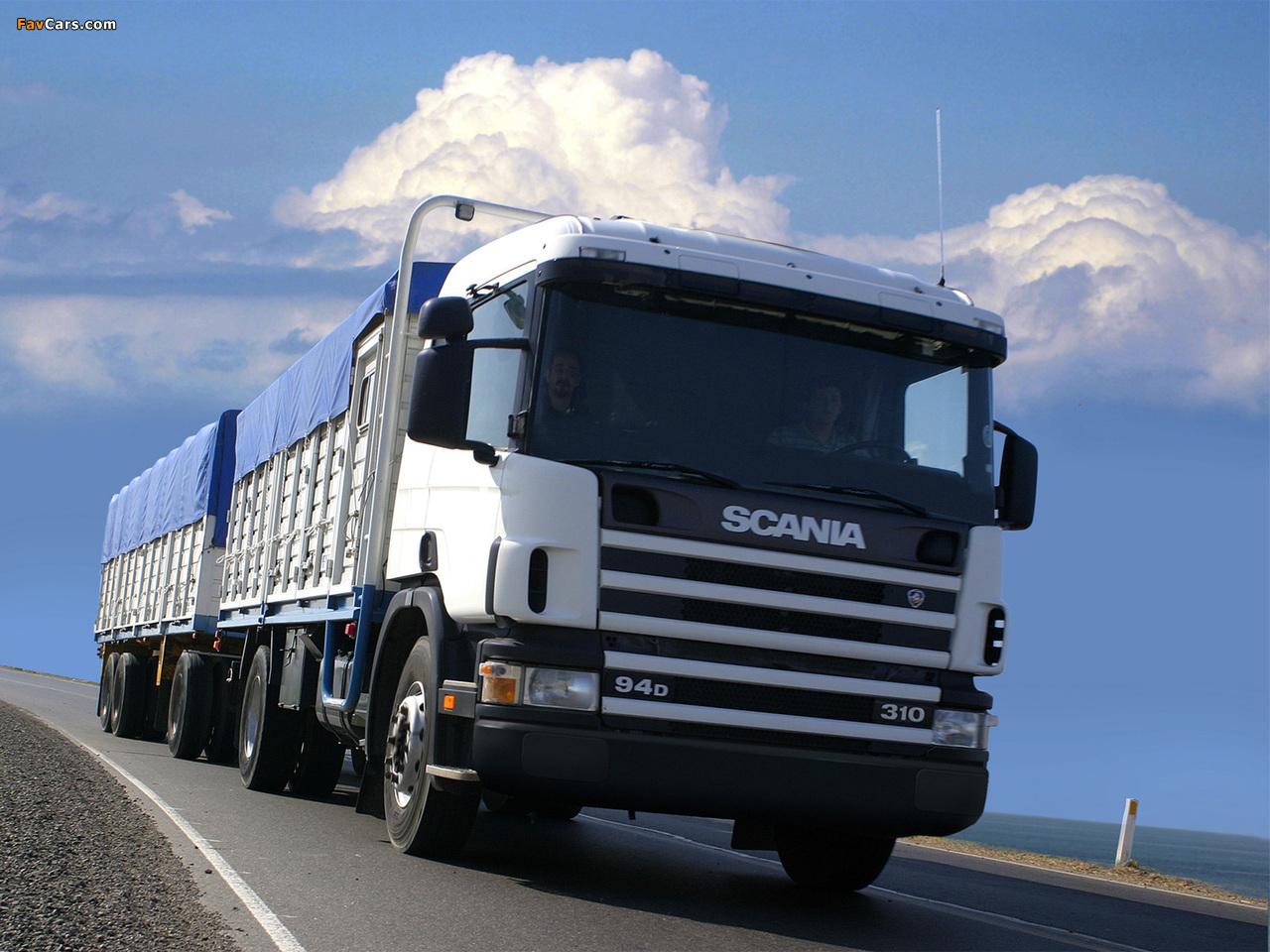 Scania P94D 310 4x2 1995–2004 images (1280 x 960)