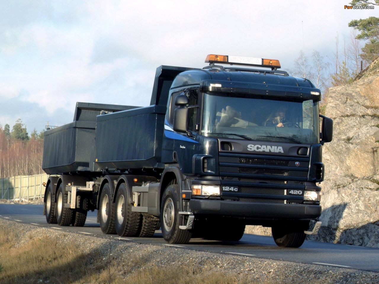 Scania R124C 420 6x4 Tipper 1995–2004 images (1280 x 960)