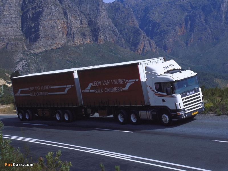 Scania R144G 460 6x4 ZA-spec 1995–2004 photos (800 x 600)