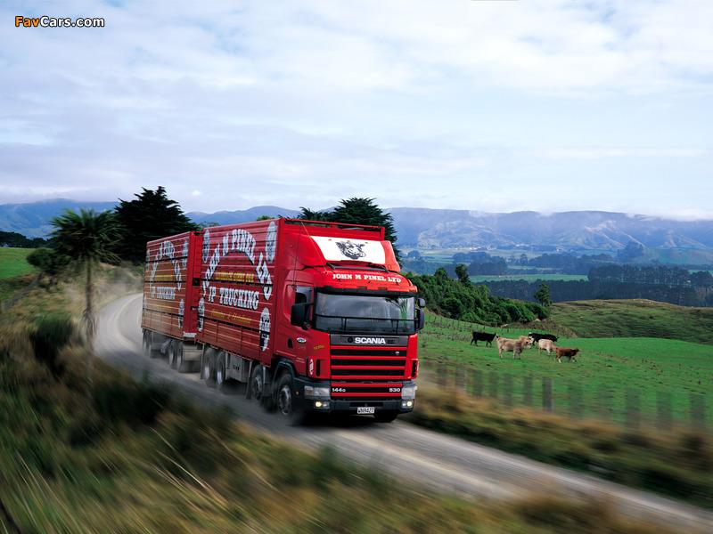 Scania R144G 530 8x4 NZ-spec 1995–2004 photos (800 x 600)