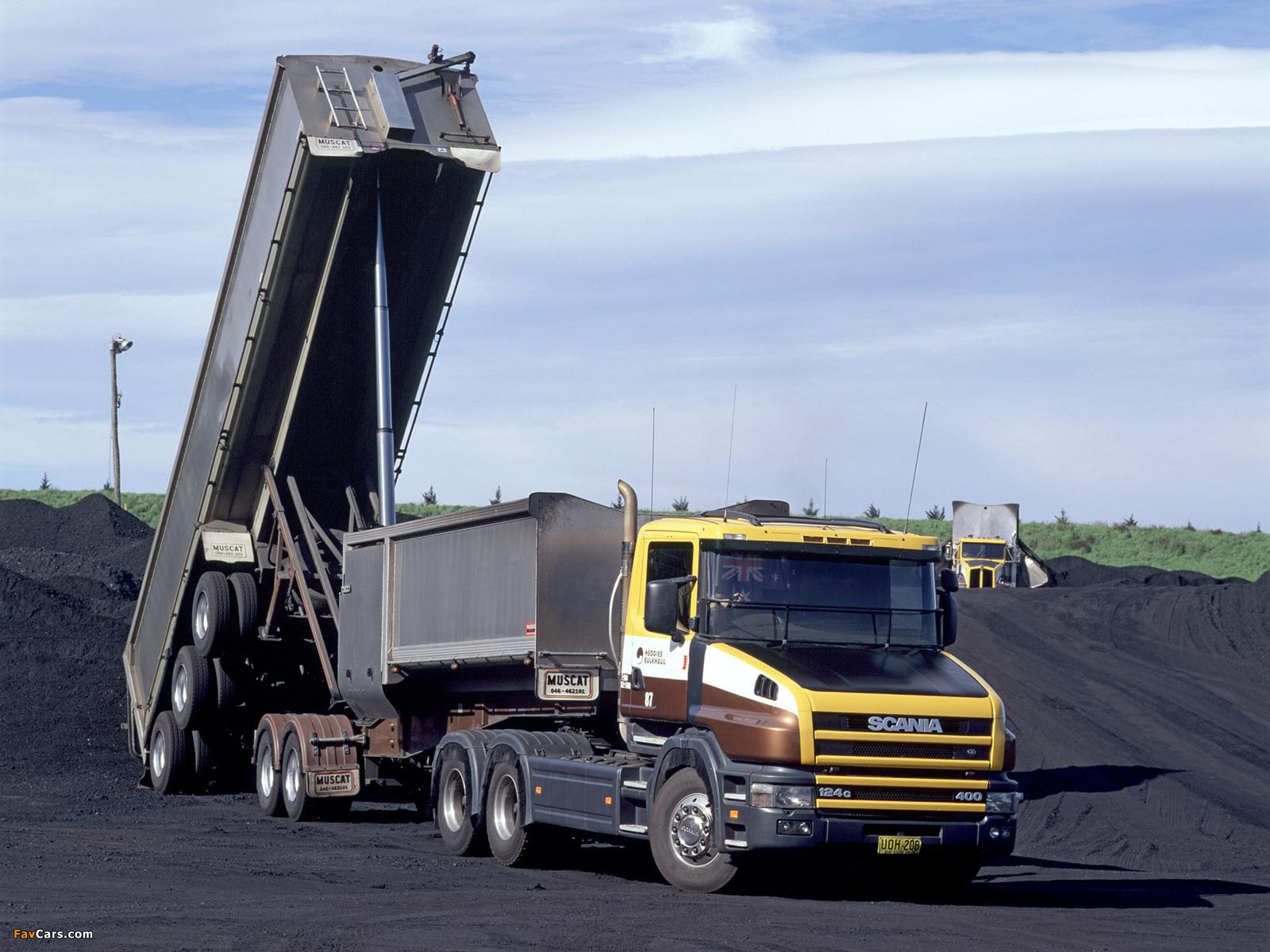Scania T124G 400 6x4 AU-spec 1995–2004 photos (1600 x 1200)
