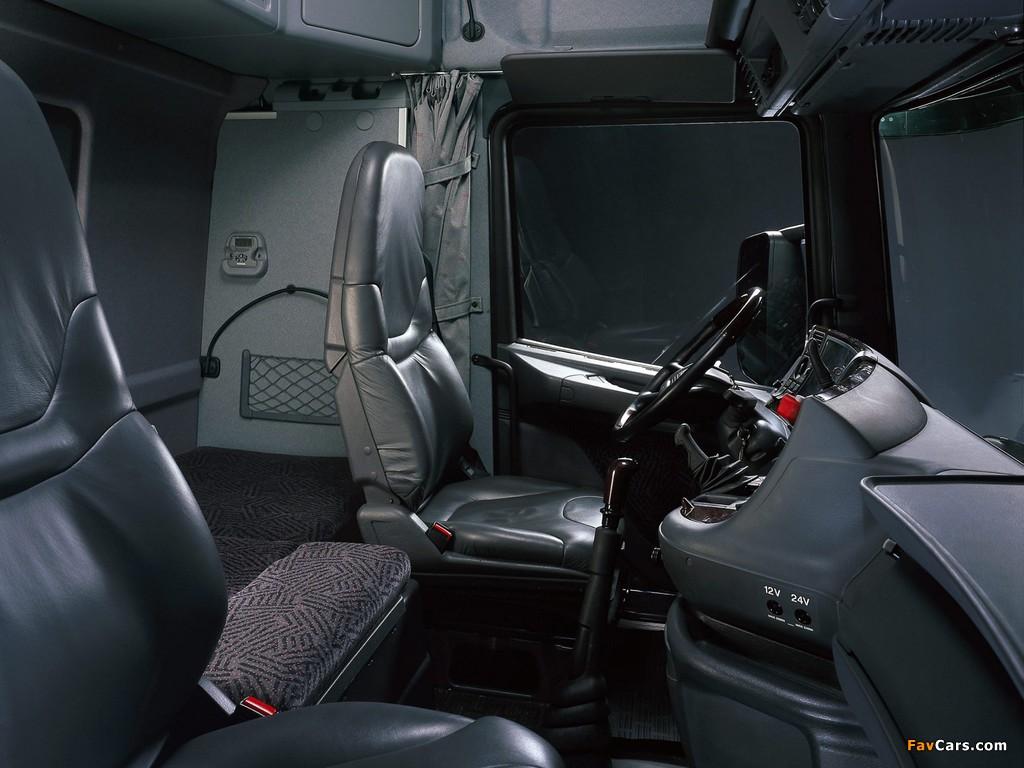 Scania T164L 580 4x2 Highline 1995–2004 photos (1024 x 768)