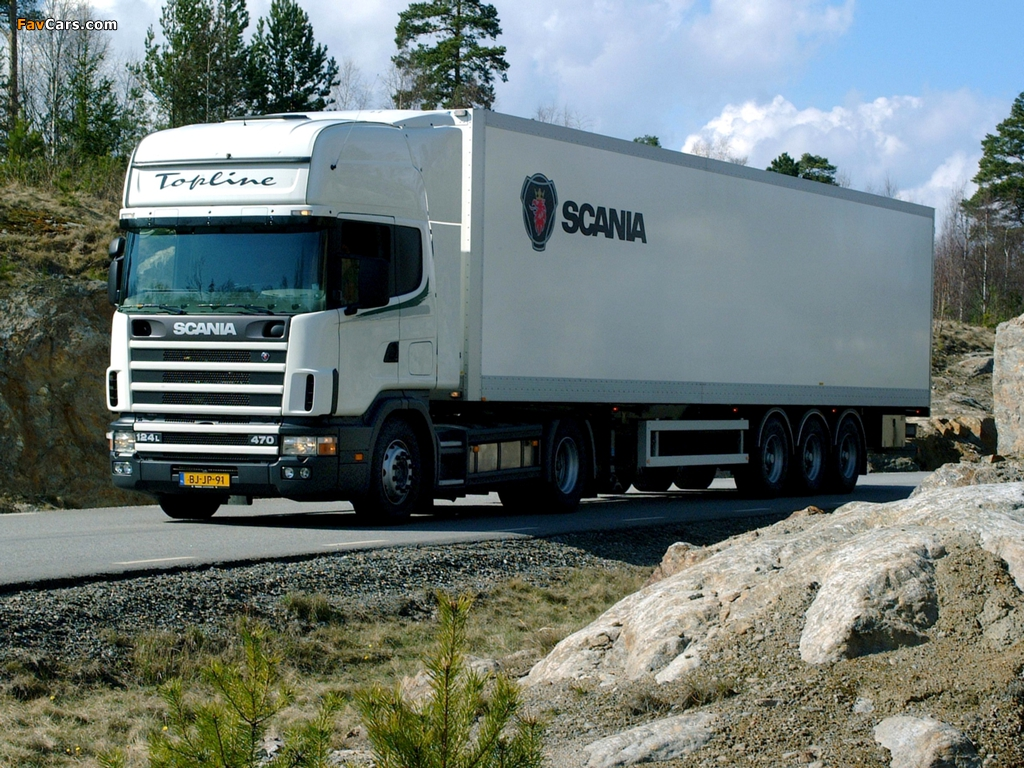 Scania R124L 470 4x2 1995–2004 pictures (1024 x 768)
