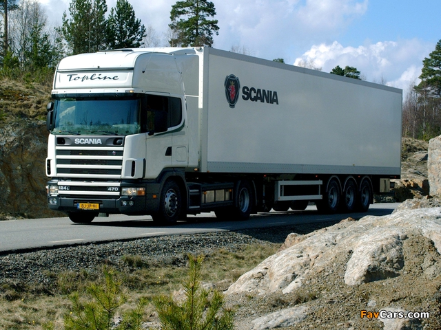 Scania R124L 470 4x2 1995–2004 pictures (640 x 480)
