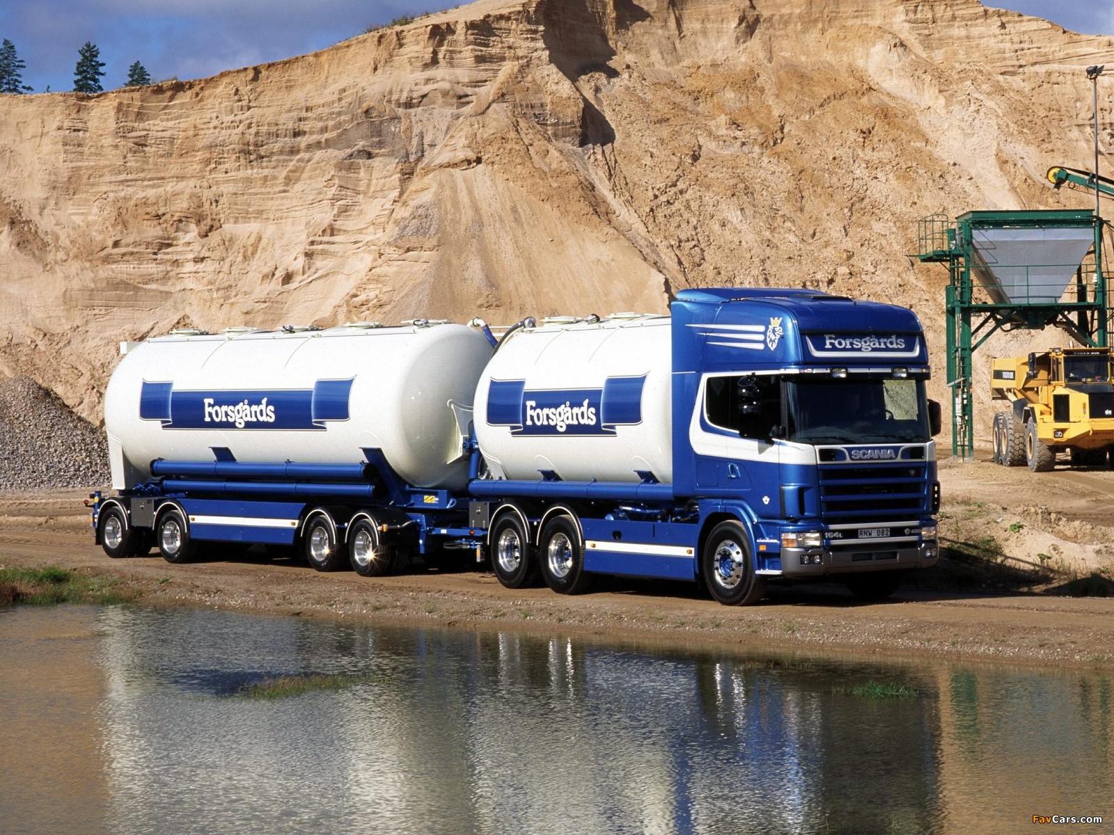 Scania R164LB 480 6x2 Topline Tanker 1995–2004 pictures (1600 x 1200)