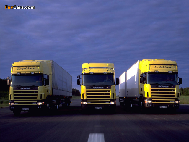 Scania IV Series 1995–2007 wallpapers (640 x 480)