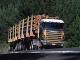 Scania R144G 530 6x4 Timber Truck NZ-spec 1995–2004 wallpapers