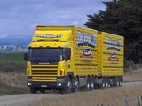 Scania R144G 530 8x4 NZ-spec 1995–2004 wallpapers