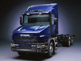Scania T164G 480 6x4 1995–2004 wallpapers