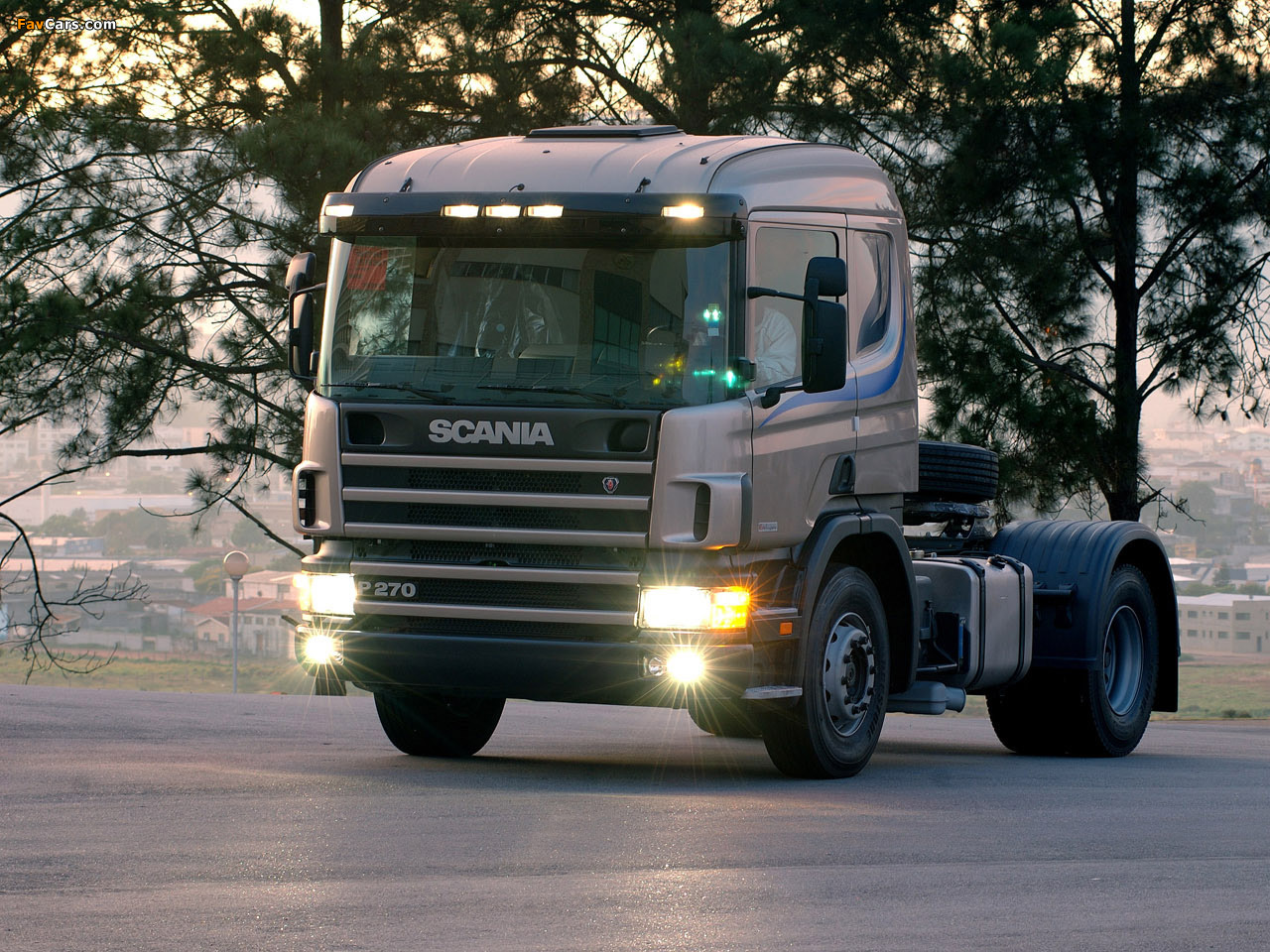 Scania P270 4x2 Griffin 2001 images (1280 x 960)