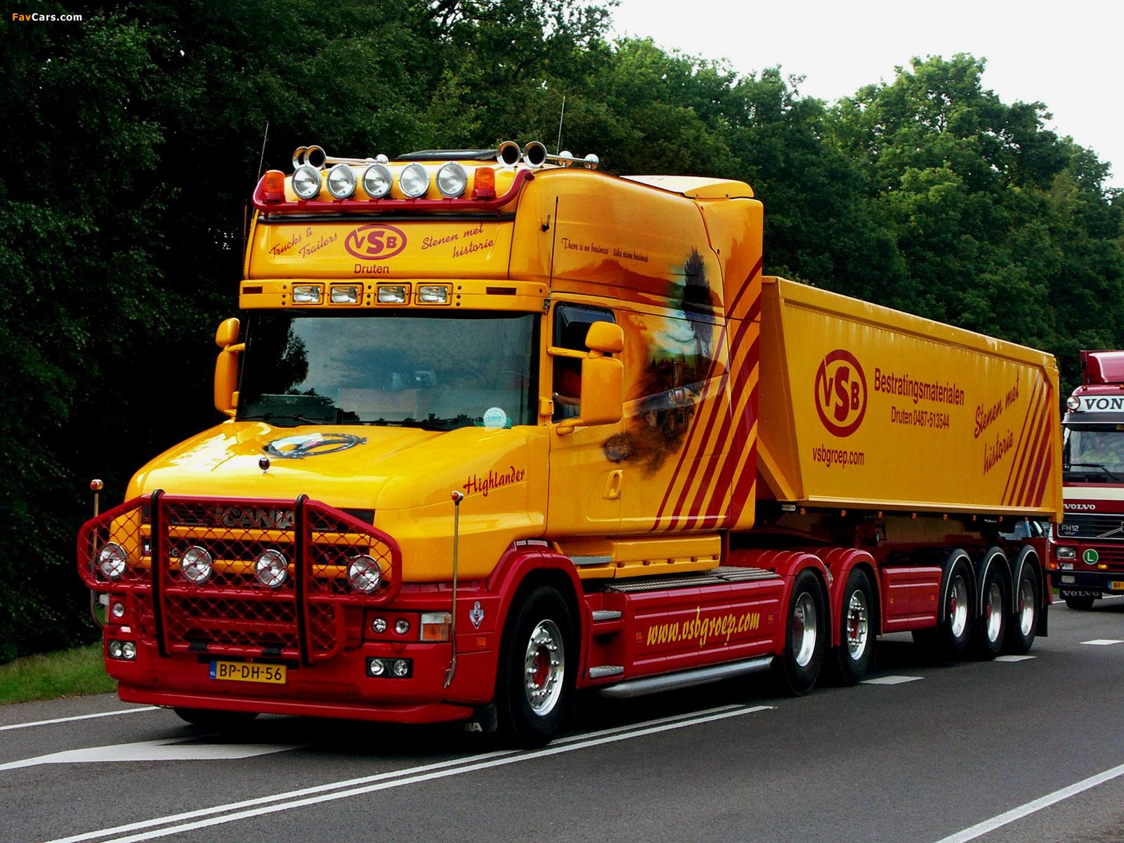 Scania Longline 2002–04 photos (1600 x 1200)