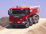 Scania P124C 400 8x4 Tipper 1995–2004 wallpapers