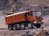 Scania R124CB 470 8x4 Tipper 1995–2004 wallpapers
