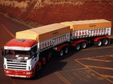 Scania R124G 420 6x4 1995–2004 wallpapers
