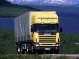 Scania R144L 530 4x2 Topline 1995–2004 wallpapers