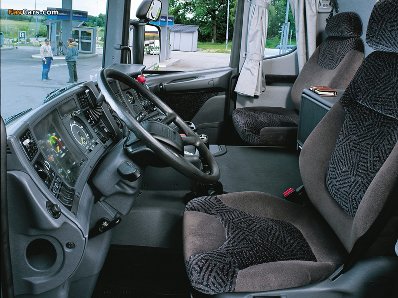 Scania R144L 460 4x2 Topline 1995–2004 wallpapers (800 x 600)