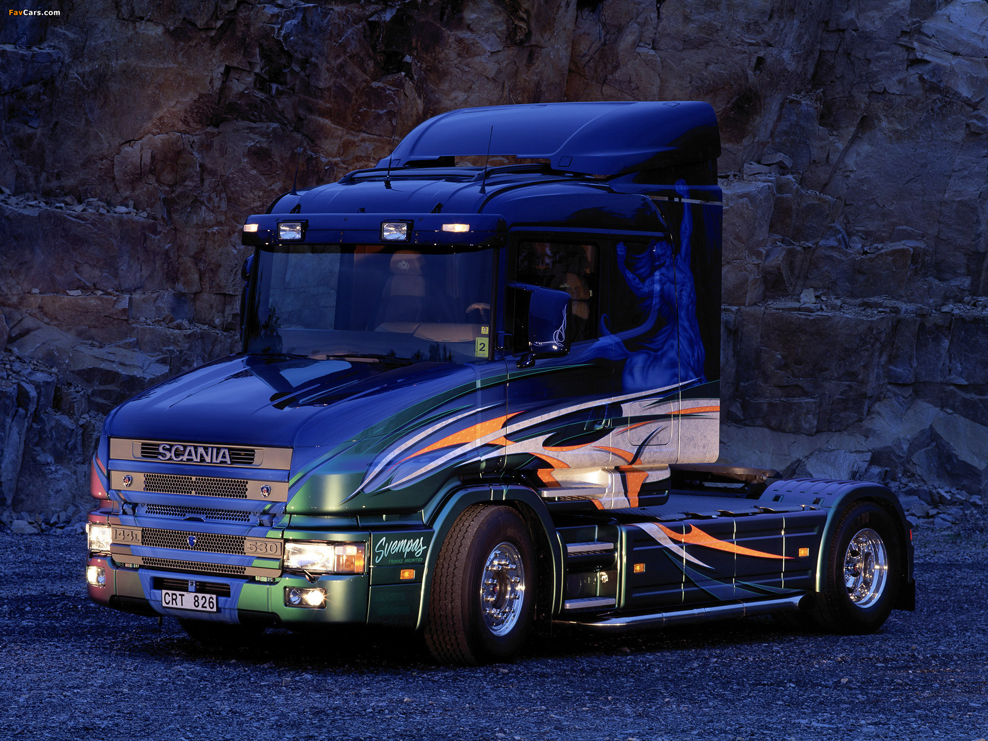 Scania T144 530 4x2 by Svempas 2005 wallpapers (1920 x 1440)